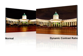 20M:1 Dynamic Contrast Ratio