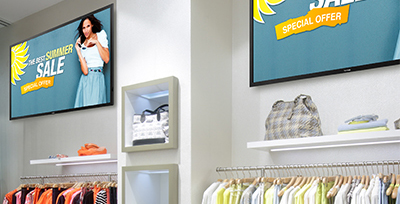 Retail Digital Signage made Easy with DisplayIt!Xpress Solution briefs Apr 2016