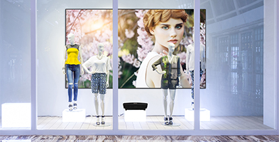Achieve Cost-Effective, Eye-Catching Digital Signage with Laser Projection Solution briefs Aug 2016