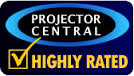 Projector Central: Highly Rated award